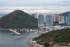 View from Hong Kong Ocean Park Stock Photos