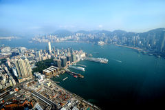 View in Hong Kong Royalty Free Stock Photography