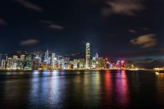 View of Hong Kong during Royalty Free Stock Image