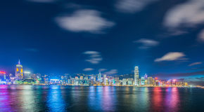 View of Hong Kong Stock Photography