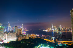View of Hong Kong during Stock Photos