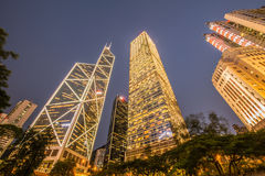 View of Hong Kong Royalty Free Stock Photo