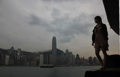 View Hong Kong Royalty Free Stock Photos