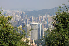 View of Hong Kong Stock Photos