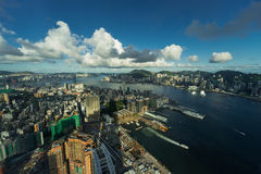 View of hongkong cityscape Stock Photo