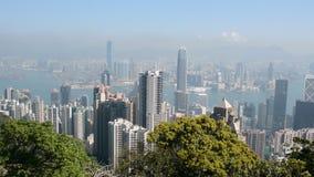 View of Hongkong stock video