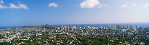 View of Honolulu Royalty Free Stock Photo