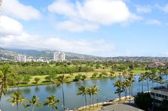 View on Honolulu Royalty Free Stock Photography