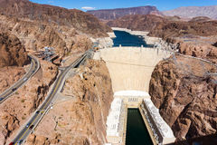 View of Hoover Dam Royalty Free Stock Photography