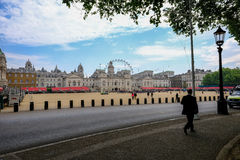 View of Horseguards Parade, London, England Stock Image