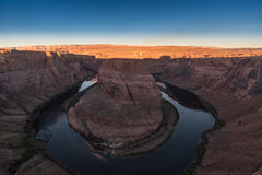 View of Horseshoe Bend, Arizona Royalty Free Stock Photo