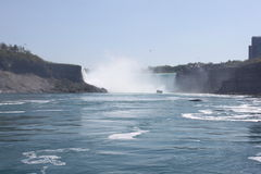 View of horseshoe falls Royalty Free Stock Photos