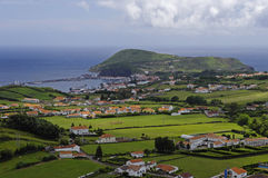 The view of Horta Bay, Faial