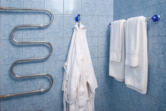 View of a hotel bathroom Royalty Free Stock Photography