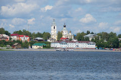 View of the hotel complex Summit. Myshkin, Russia Royalty Free Stock Photo