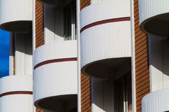 View of hotel facade Stock Image