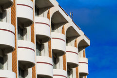 View of hotel facade Royalty Free Stock Images