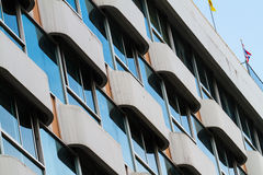 View of hotel facade Royalty Free Stock Photography