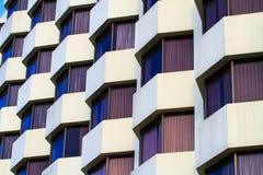 View of hotel facade Stock Photos
