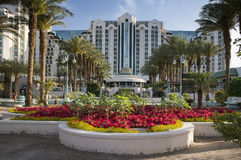 View on hotel Herods, Eilat, Israel Stock Image