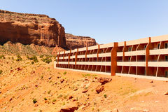 The View hotel. Monument Valley, USA - May 31, 2014: The View hotel located next to Monument Valley Visitor Center Stock Photography