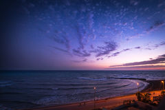 View from the hotel, sicily royalty free stock photos