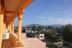 View from hotel veranda Stock Photography