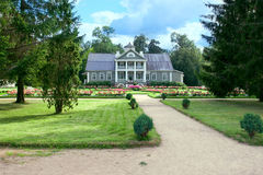 View of the house of grandfather of poet  Pushkin, Hannibal Stock Photography