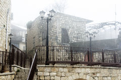 View of house in old Safed Royalty Free Stock Photography