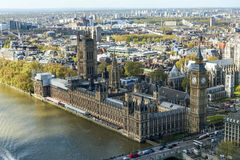 View of House of Parliament in London Royalty Free Stock Image