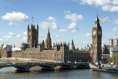 View of House of Parliament in London Stock Photos