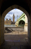 View of the Houses of Parliament Stock Photography