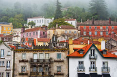 View of houses in the town of Sintra Stock Images
