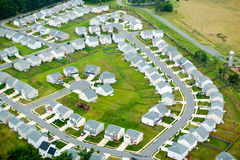 View of housing development Stock Photos