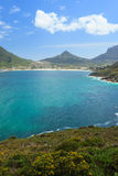 View of Hout Bay from Chapmans Peak Stock Image