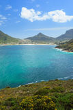View of Hout Bay from Chapmans Peak - Cape Town Stock Image