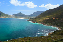 View of Hout Bay from Chapmans Peak - South Africa Royalty Free Stock Image