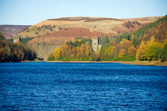View of Howden Dam and Reservoir Stock Image