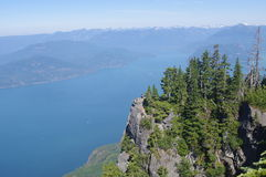 View of Howe Sound Royalty Free Stock Images