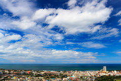 View of Hua-hin City, Thailand Royalty Free Stock Photo