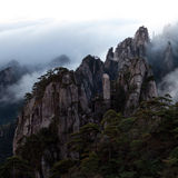 View of Huangshan from Cooling Terrace, Anhui, China Stock Image