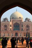 A view of  Humayun Tomb Royalty Free Stock Photography