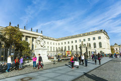 View of Humboldt University of Berlin Royalty Free Stock Images