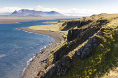 View on hunafjordur - Iceland Royalty Free Stock Photo