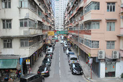 View of Hung Hom district. Stock Photography