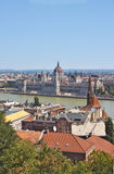 A view of the Hungarian Parliament Royalty Free Stock Photography