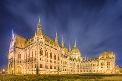 View of hungarian Parliament building, Budapest Stock Images