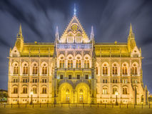 View of hungarian Parliament building, Budapest Stock Photo