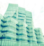 View of IAC Building facade  in New York Stock Images
