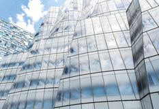 View of IAC Building facade in New York Stock Photo